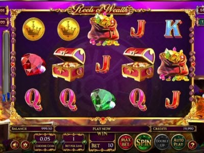Reels of Wealth Slots Review | Betsoft No Deposit Casino Bonus Codes