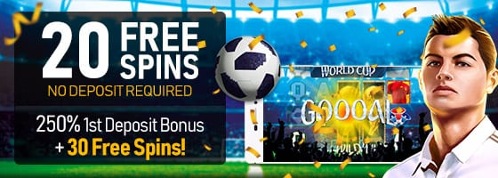 Enjoy Rewards From The FIFA World Cup Casino Bonuses | Free Chips