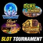 Win Money Playing Tigers Claw, Ogre Empire, Reels of Wealth & Stampede Slot Machines