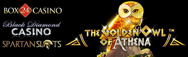 BetSoft Casinos| Golden Owl of Athena Slot Machine Free Chips