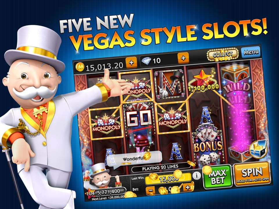 Monopoly Slots is Featured in a New Mobile Slot Machine App | Casino News