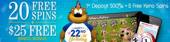Online Bingo Hall Offers Free Games To Celebrate Their Anniversary | Bonuses