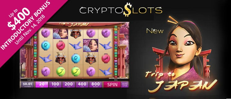 New Trip To Japan Slot Game | Slotland's CryptoSlots Cryptocurrency Casino