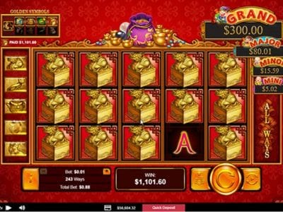 Plentiful Treasure Slots Review | Asian Theme RTG Casino Game