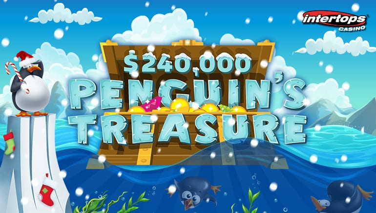Intertops Casino Heats Up the Holiday Season with Penguin's Treasure