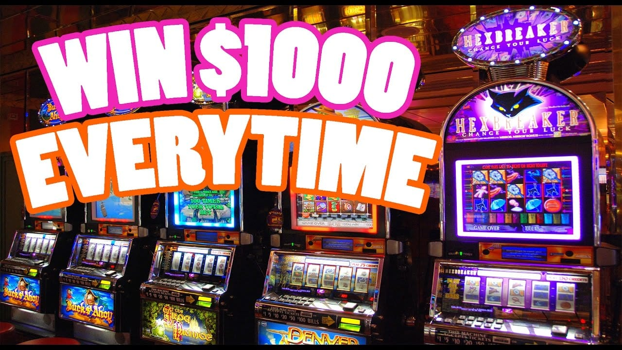 How To Play Slot Machines And Win Big?
