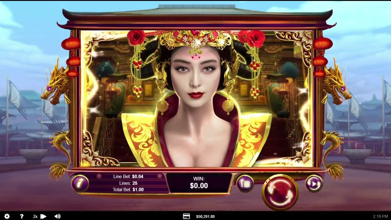 Realtime Gaming Releases the Intriguing Wu Zetian Slots Game