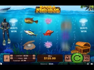 scuba fishing slots reviews