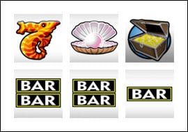 slot machine bar symbols