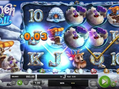 yak yeti and roll slots reviews betsoft