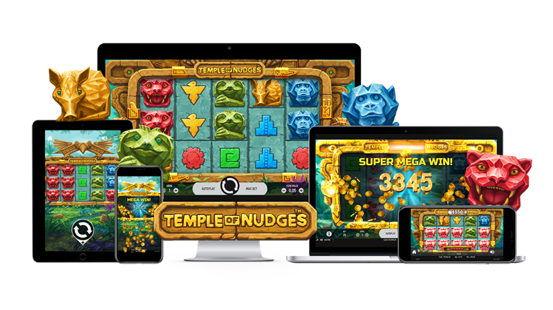 NetEnt's Temple of Nudges Makes Its Debut