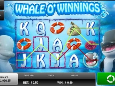 Whale O Winnings slot machine