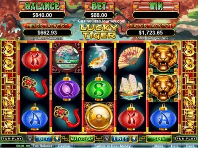 lucky tiger slots rtg