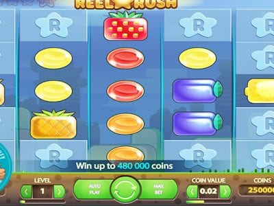 Reel Rush slots review netent