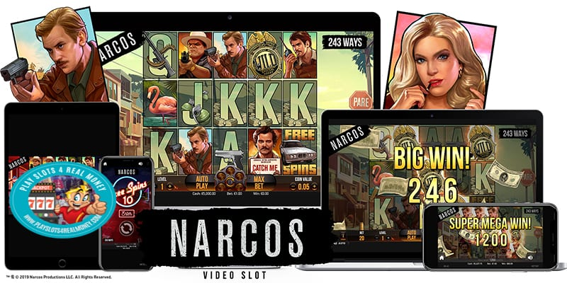 Narcos Video Slot Machine Highlights NetEnt's Latest Release