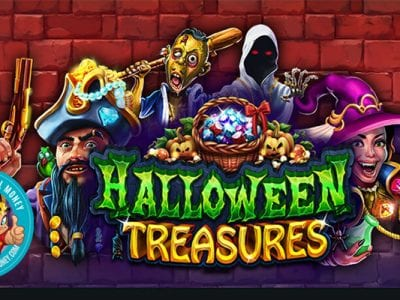 Halloween Treasures slots reviews RTG