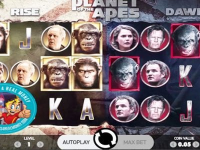 Planet Of The Apes Slots Review NetEnt