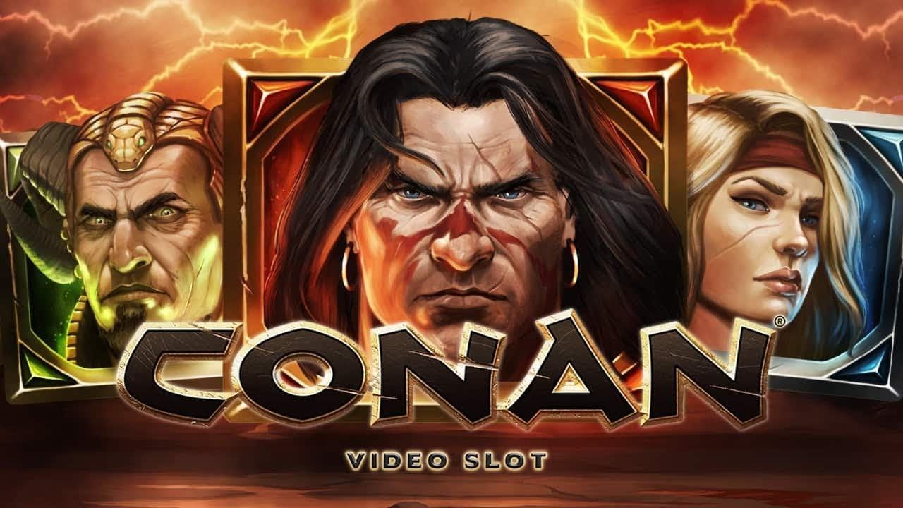 NetEnt Unleashes The World's Most Famous Conan The Barbarian