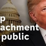 Impeachment Proceedings Taking a Toll on Trump's Impeachment Betting Odds