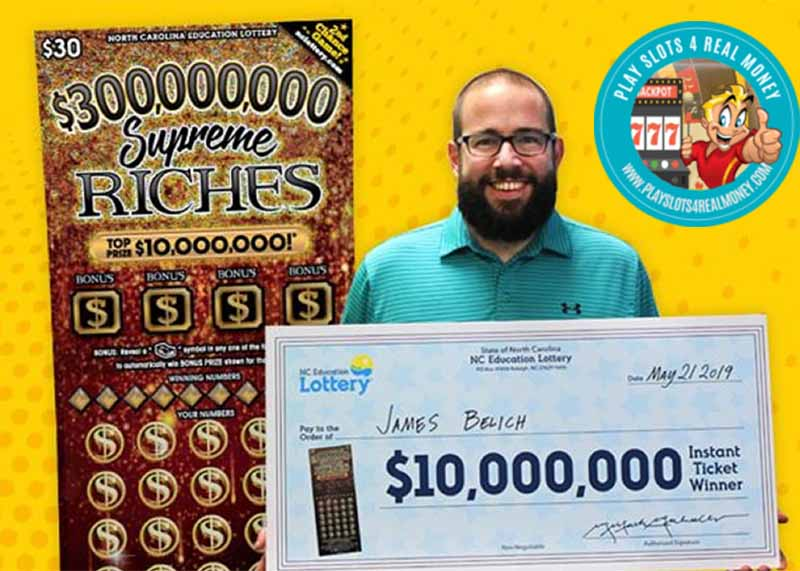 Scarlet Pearl Casino Resort In D'Iberville Sells a High-Value Holiday Scratch-Off Ticket7