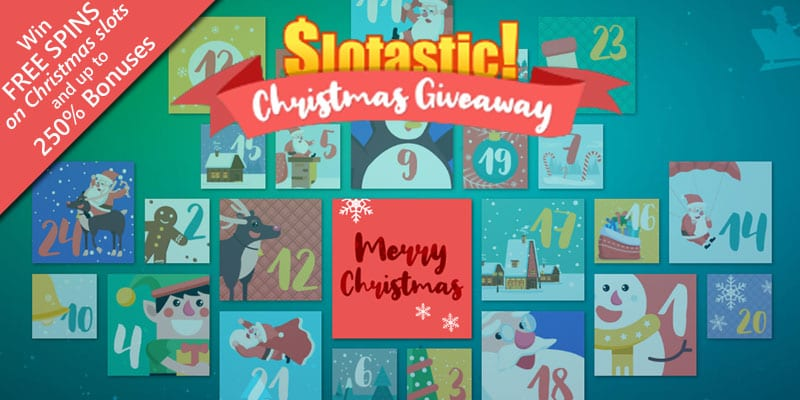 Slotastic Launches Its Annual Advent Calendar Promotion With Free Spins