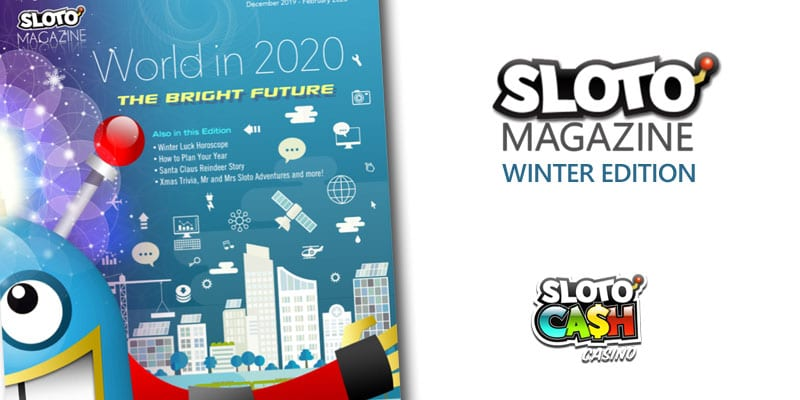 Sloto'Cash Releases Its Popular Sloto Magazine That Offers Free Spins Bonuses