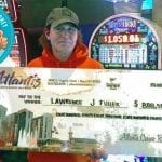 The New Year Yields the First Six-Figure Slots Jackpot in At Atlantis Casino Resort Spa In Reno, Nevada
