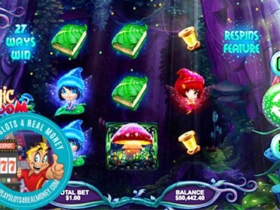 Magic Mushroom Slots Reviews RTG