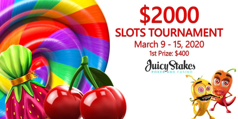 It's Your Chance To Win $2000 In Guaranteed Cash Prizes With Super Sweets & Sugar Pop Slots Tournament