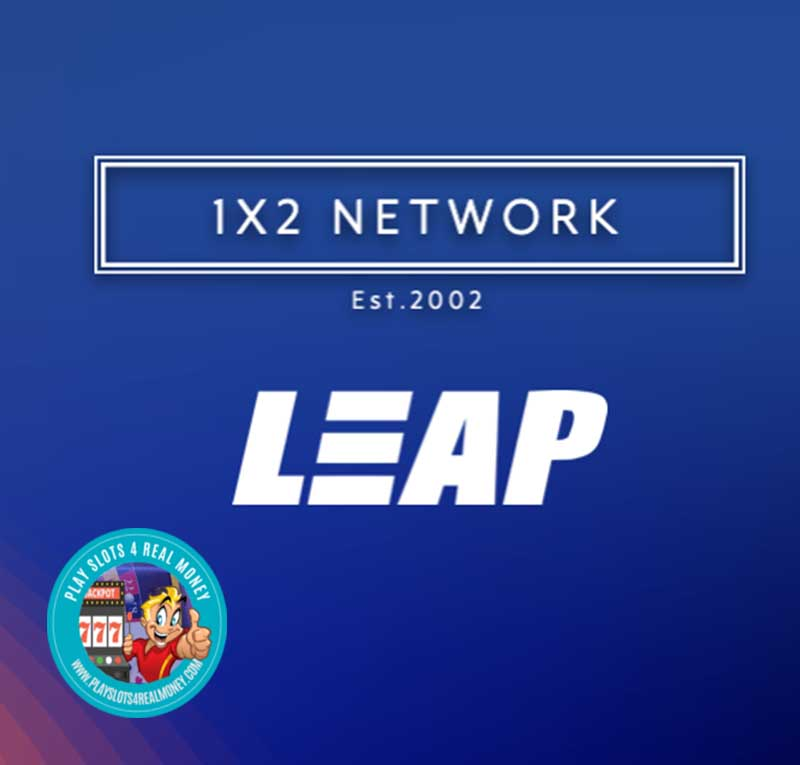 1X2 Gaming Extends Partnership Leap Gaming's Online Slot Games