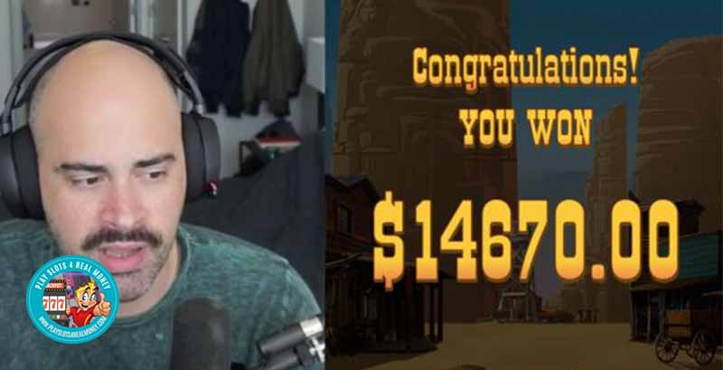 A Twitch Streamer Wins Close To $15,000 Playing Online Casino Slots Games