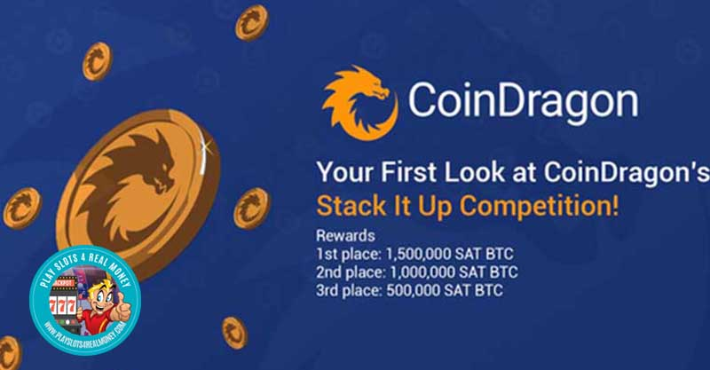 CoinDragon Casinos Stack In Up Competion