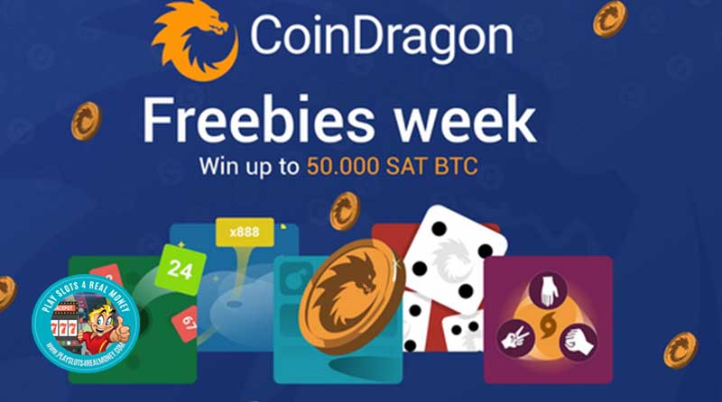Win Up 1.000.000 SAT BCH As Coin Dragon Casino As They Launch Freebies Week & Stack-it-up Competition