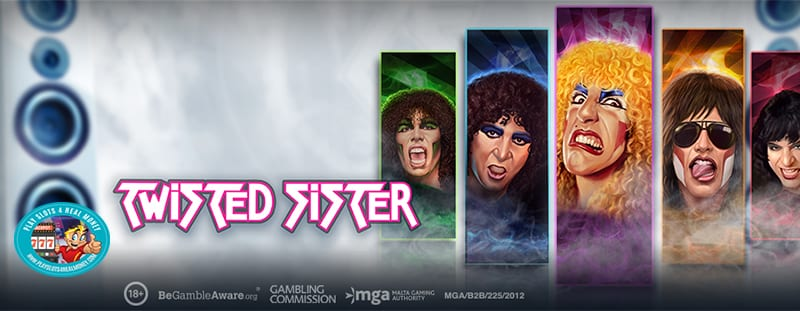 Famed American Rock Band Twisted Sister Highlights Latest Play'n GO Slot Machine Release