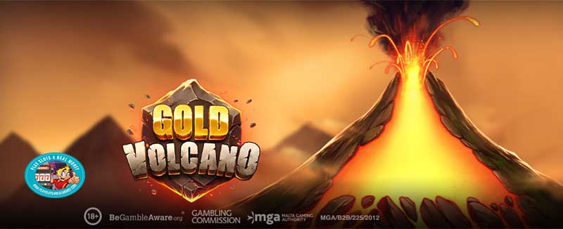 Online Slot Players Feel The Eruption in Play'n GO's Latest Release Gold Volcano
