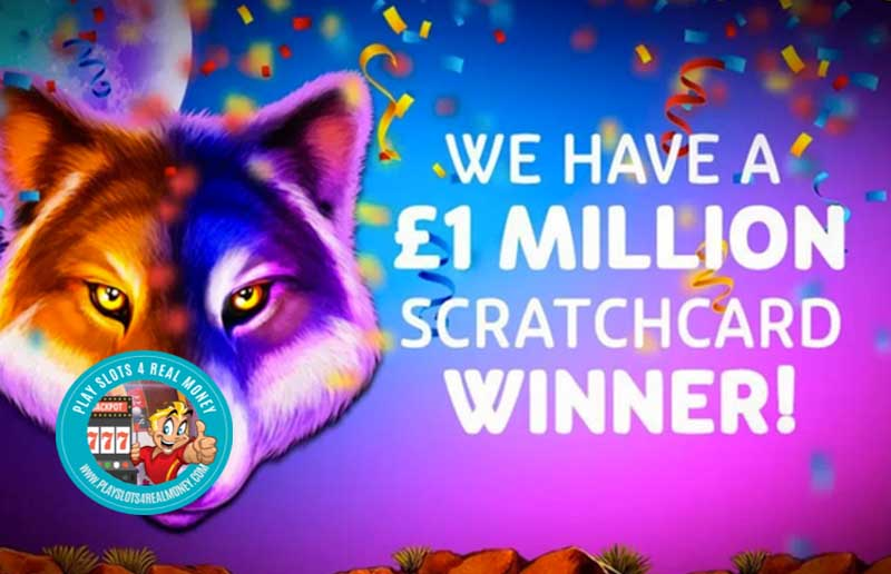 Pragmatic Play's Online Scratchcard Wolf Gold Pays Out Big Progressive Jackpot