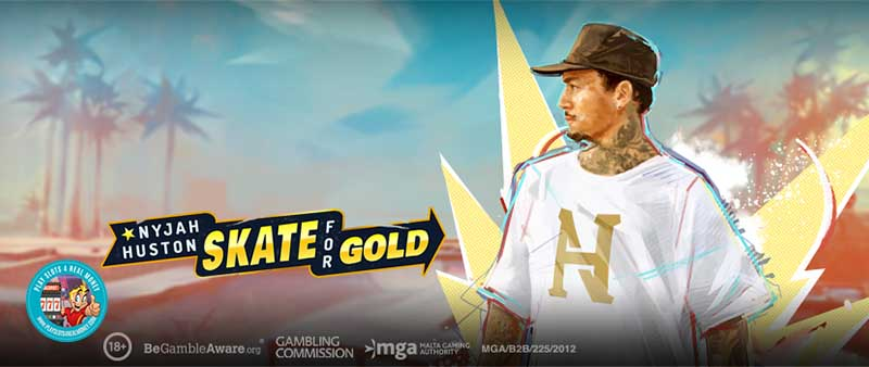 World Famous Skateboarder Teams Up With Top Online Casino Software Developer Play'n GO For New Slot Game