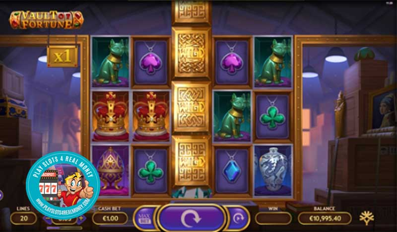 Yggdrasil Features A Vault Of Fortune With Their Brand New Game Innovation in Latest Slot Release