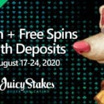 The Stakes Are High With Bonus Promotions At Juicy Stakes Casino This Month