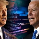 Online Political Betting Odds Between Joe Biden and Donald Trump Tighten