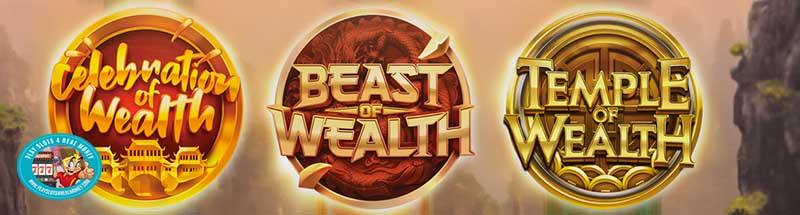 Play'n GO Offers A 'Wealth Series' Of New Slot Play Action