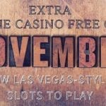 Head Into November With Extra Online Casino Free Chips And New Las Vegas-Style Slots To Play