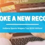 Indiana's September Sports Betting Handle Sets New Record