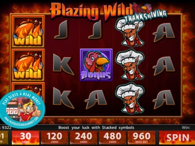 Avis sur Blazin Wilds Slots Slotland Entertainment