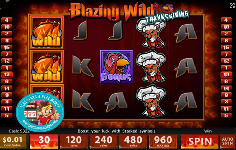 Blazin Wilds Slots Đánh giá Slotland Entertainment