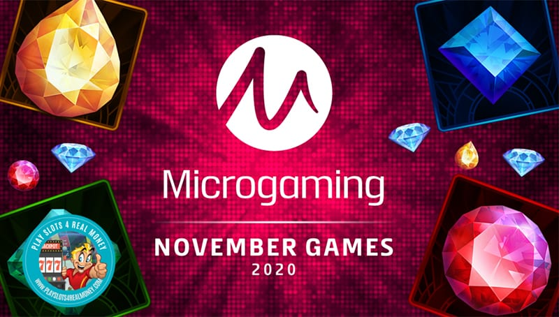 Microgaming's New Slot Game Lineup Going Into December 2020