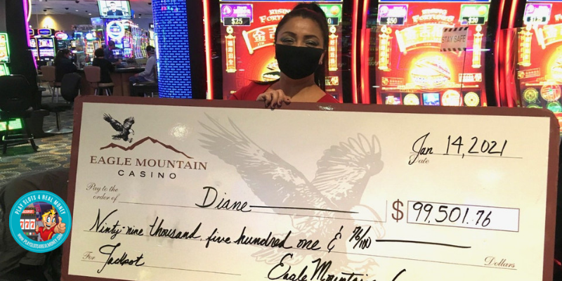 Northern California Casino Jackpot Winner Nets $99,000