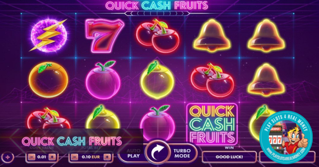Quick Cash Fruits by NetGame