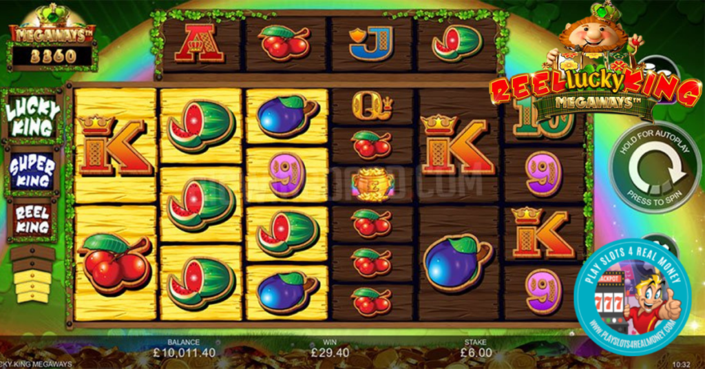 Reel Lucky King Megaways by Inspired Gaming