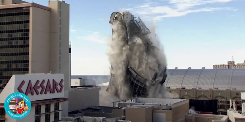 Atlantic City's Former Trump Plaza Is Finally Imploded